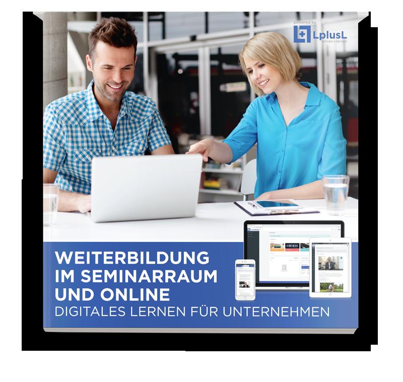 LplusL eBook – Weiterbildung im Seminarraum und Online - digitales Lernen für Unternehmen